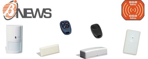 nuova gamma prodotti Bentel Security 868