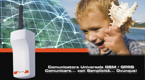 Nuovo comunicatore PSTN/GSM/GPRS Bentel Security