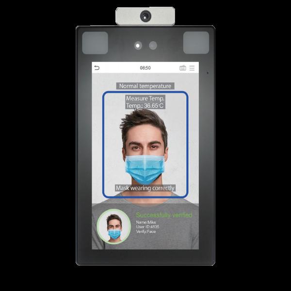 PROFACE ZKTeco misuratore di temperatura corporea e riconoscimento mascherina
