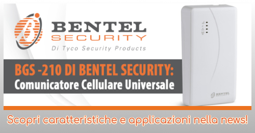 BGS-210 DI BENTEL SECURITY: Comunicatore Cellulare Universale