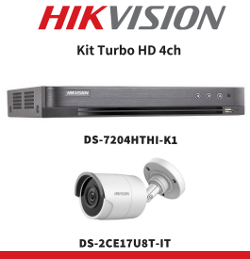 Kit Turbo HD 4ch Hikvision