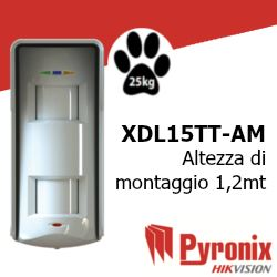 XDL15TT-AM rilevatore di allarme per esterno tripla tecnologia