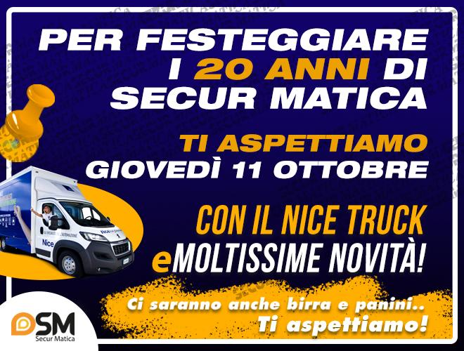 Festeggiamo inseime i 20 anni di Secur Matica!