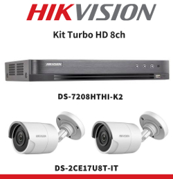 Kit Turbo HD 8ch Hikvision