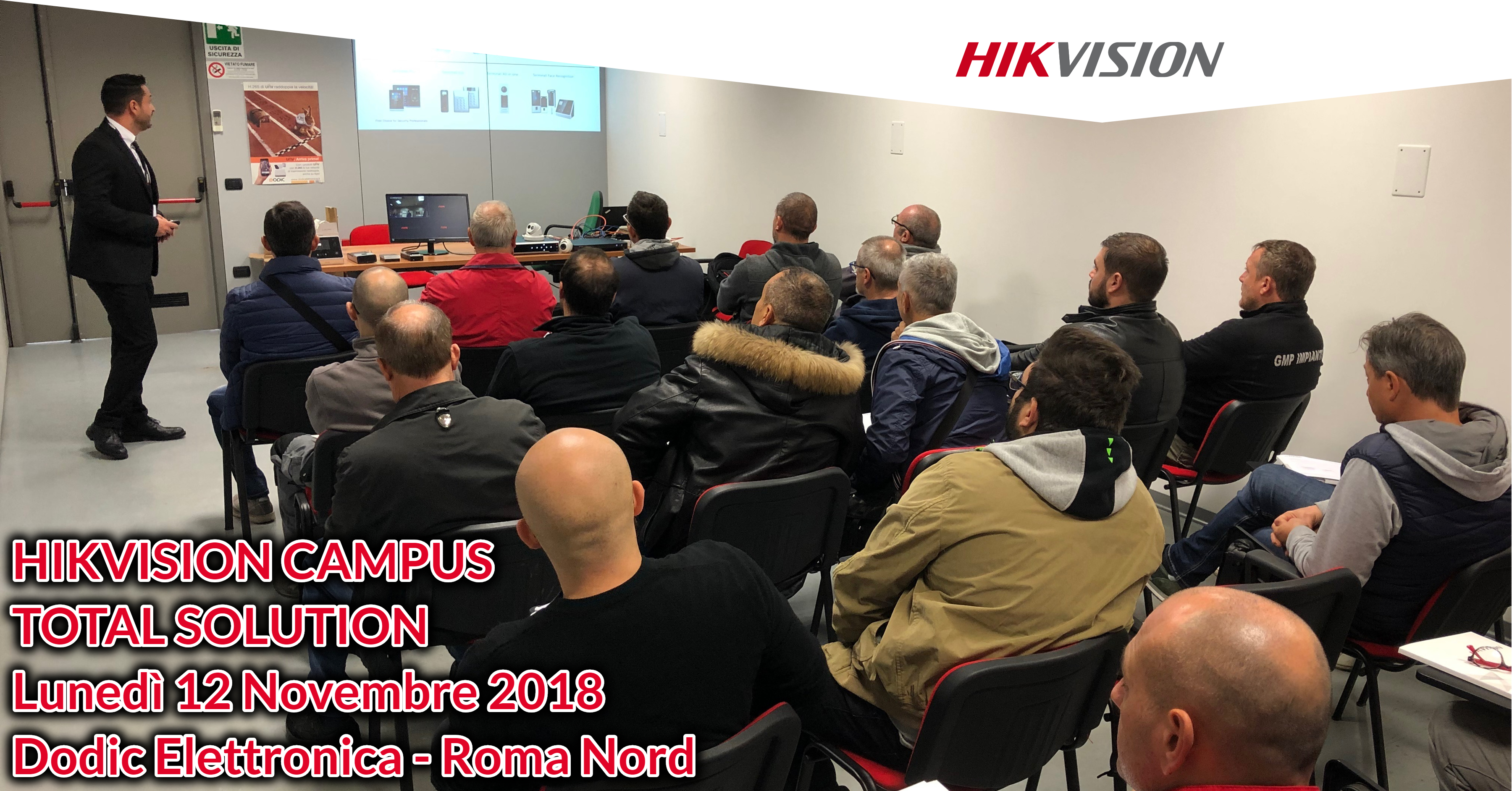Hikvision Campus Total Solution - Dodic roma nord