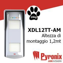 XDL12TT-AM rilevatore di allarme per esterno tripla tecnologia