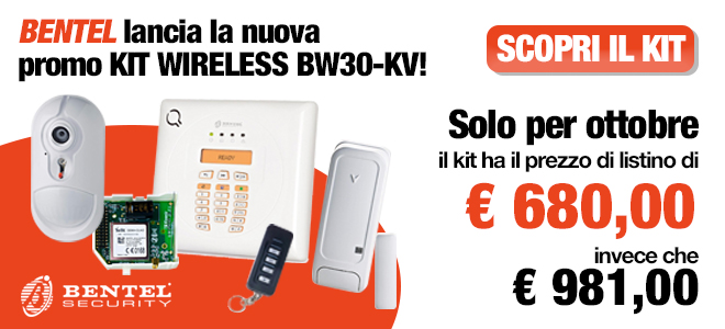 Promo Bentel Kit wireless BW30-KV