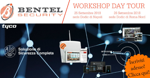 Bentel workshop day tour a Roma e Napoli