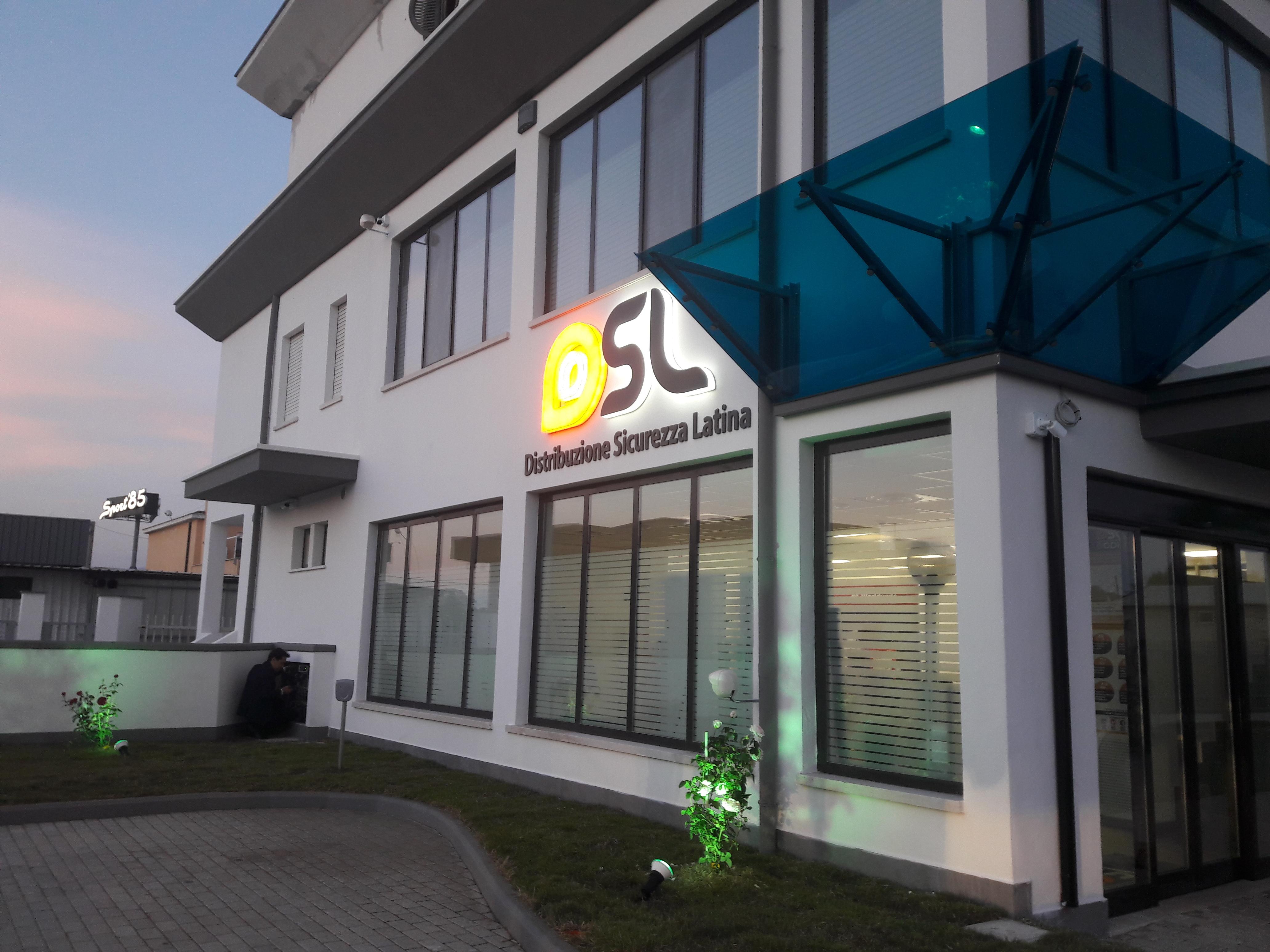 Nuova sede DSL (Distribuzione Sicurezza Latina) - consociata Dodic