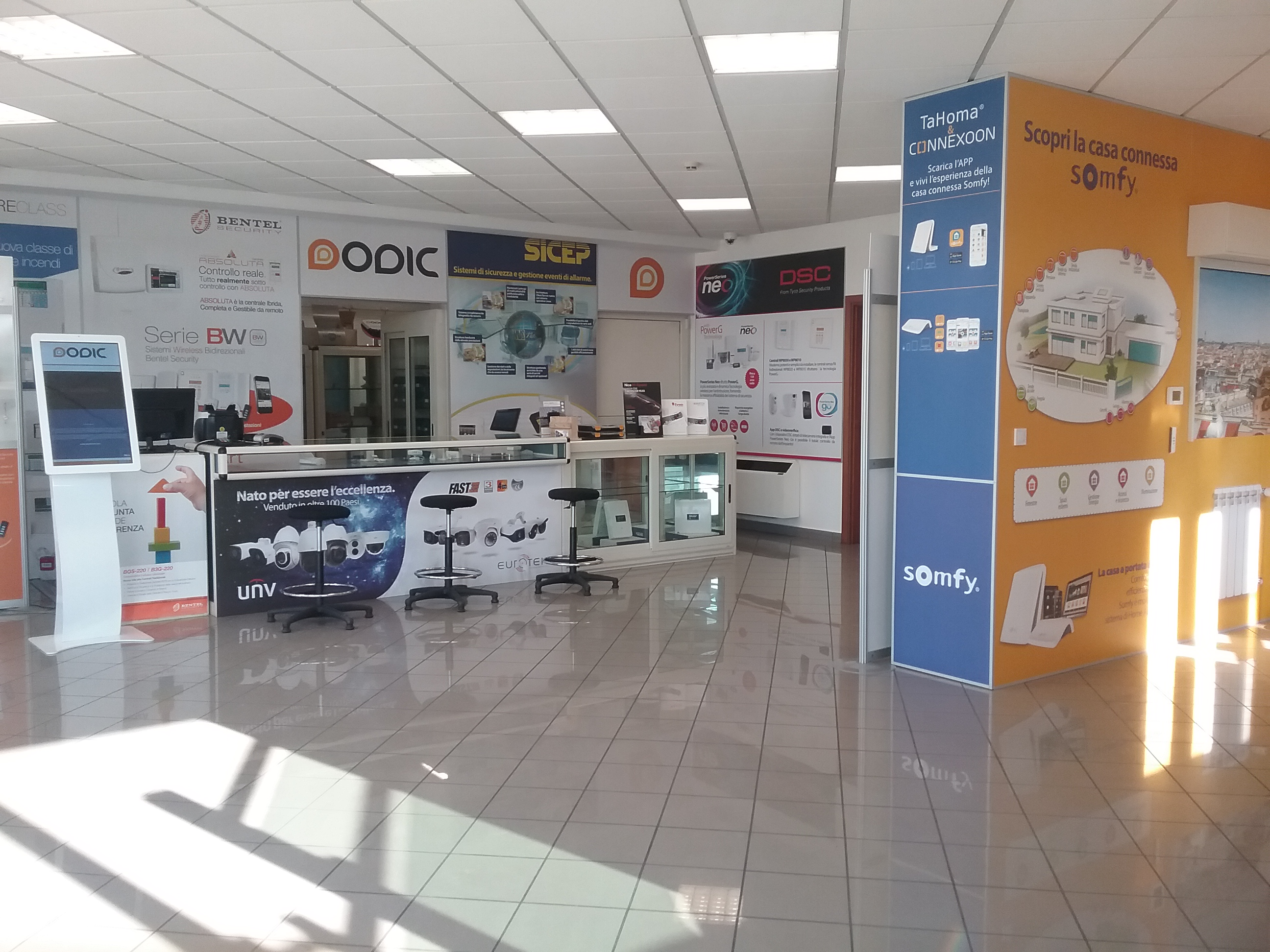showroom sede Dodic di Frosinone