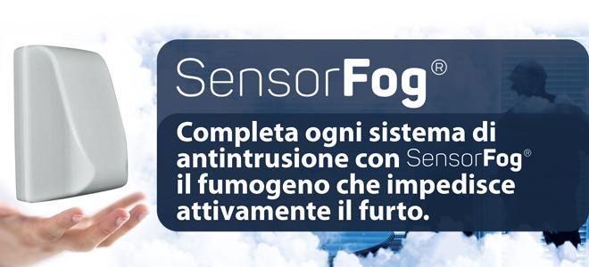 SensorFog antifurto Fumogeno
