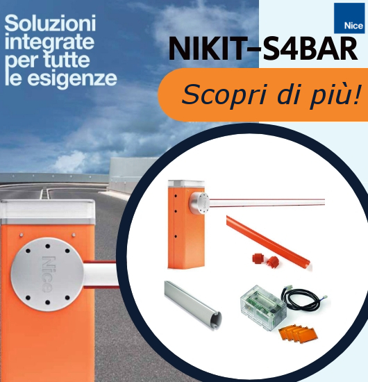 KIT NICE NIKIT-S4BAR