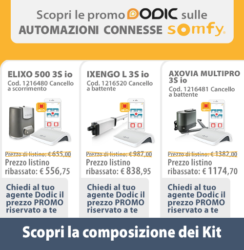 promo dodic kit somfy