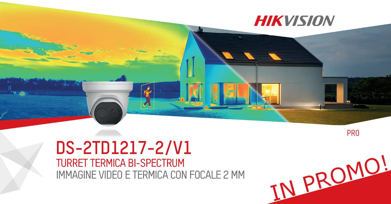 Turret Bi-Spectrum Ottica Fissa  DS-2TD1217-2/V1 HIKVISION