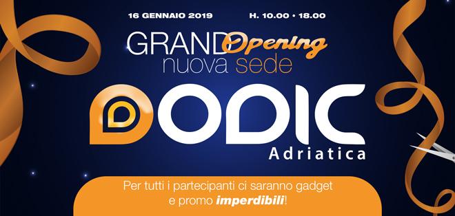 Inaugurazione Dodic Adriatica a Pescara!